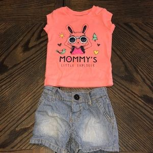 Other - Spring outfit baby girl!